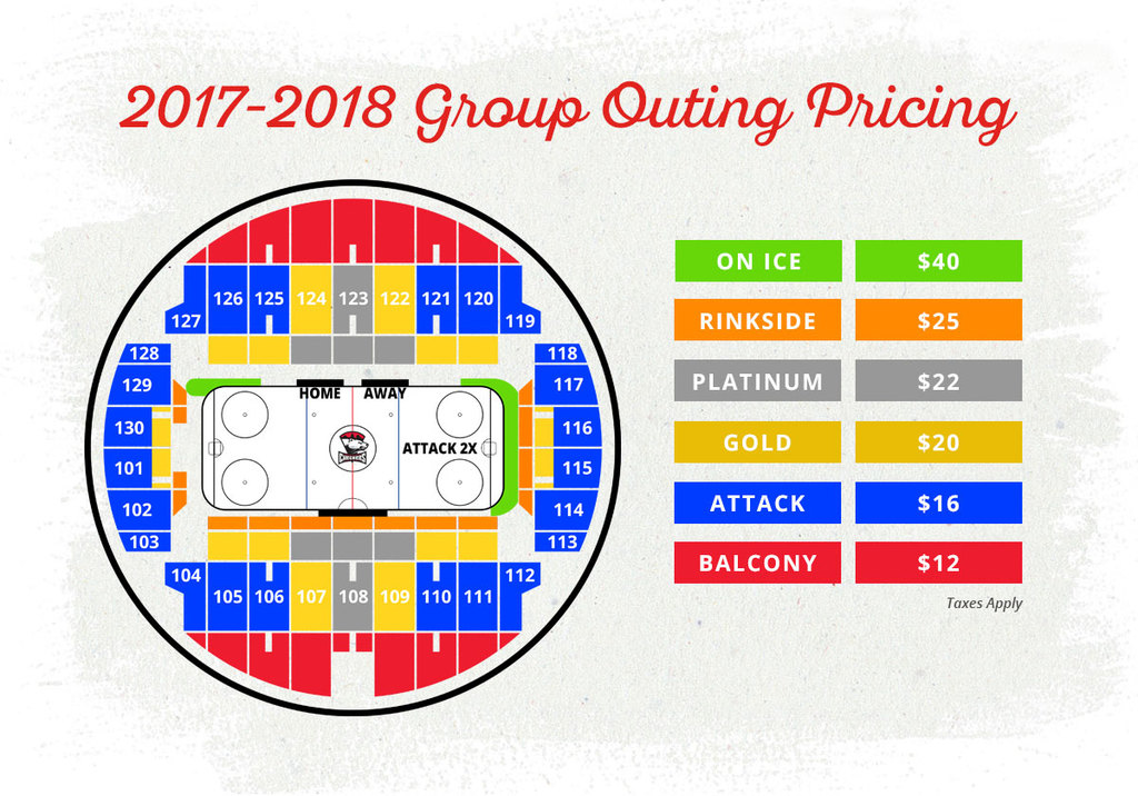 Charlotte Checkers 2017-18 group ticket pricing