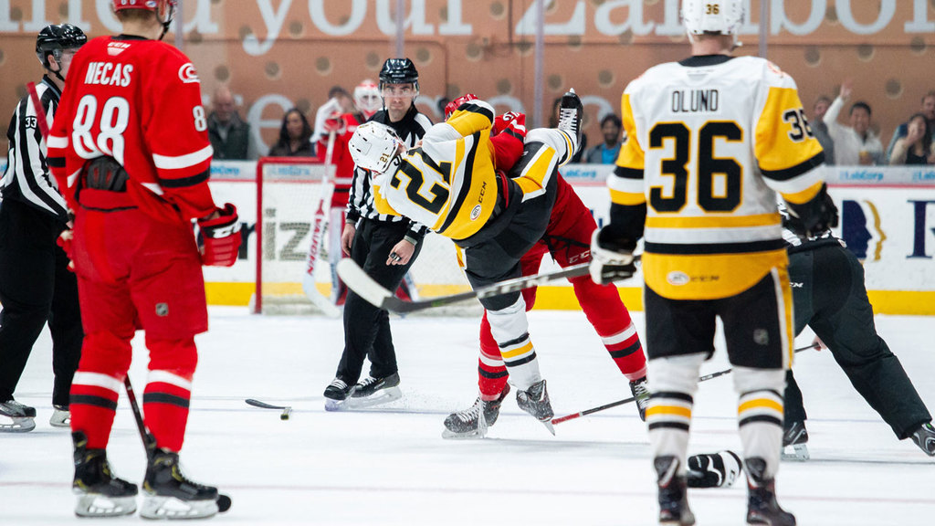 Checkers Begin Home Stand with 5-1 Loss to Penguins