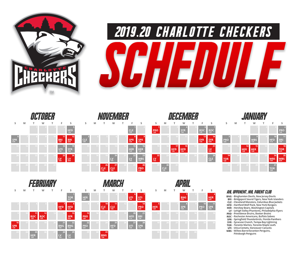 The Official Site Of The Charlotte Checkers Charlotte Checkers