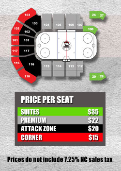 Charlotte Checkers Group Ticket Pricing