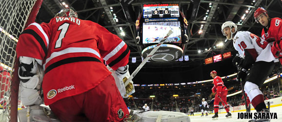 Cam Ward Charlotte Checkers