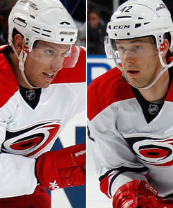 Zach Boychuk and Brett Sutter