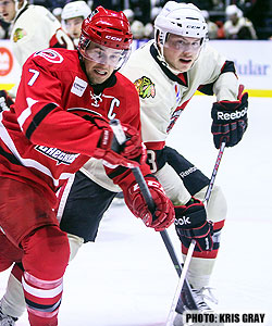 Charlotte Checkers at Rockford IceHogs