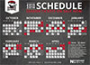 Charlotte Checkers Magnet Schedule Giveaway