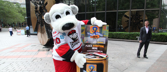 Charlotte Checkers to help kick off WSOC's School Tools